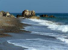 Free Pissouri Beach Cyprus Royalty Free Stock Photo - 5389475