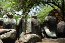 Free Thailand Ayutthaya Wat Ratburana Or Ratchaburana Stock Image - 5389481