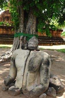 Thailand Ayutthaya Wat Ratburana Or Ratchaburana Stock Image