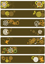Free Decorative Banners Stock Photography - 5391152