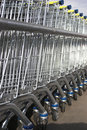 Free Shopping Carts Royalty Free Stock Photo - 5395935