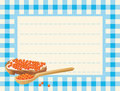 Free Red Caviar On Chequered Background Royalty Free Stock Image - 5396596