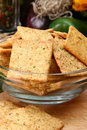Free Sour Cream And Chive Flavored Crackers Stock Image - 5397601