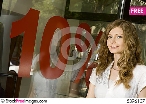 Free Discount 10 Royalty Free Stock Photography - 5396137
