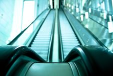 Free Double Way Escalator Stock Photo - 5390530