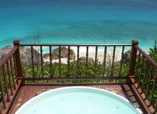 Free Seychelles Jacuzzi Stock Photo - 5390590