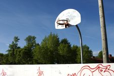 Free Basketball Net Stock Image - 5390851
