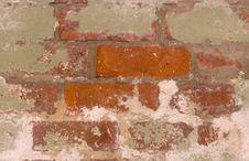 Free Old Brick Wall Stock Photo - 5391430