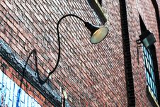 Free Brick Lamp Stock Photos - 5391983