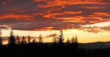 Free Landscape At Sunset Royalty Free Stock Photo - 5392395