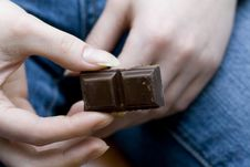 Free Do Yo Want A Piece Of Chocolate Royalty Free Stock Images - 5392599