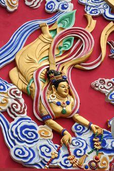 Free Buddhist Statue Royalty Free Stock Photo - 5392805