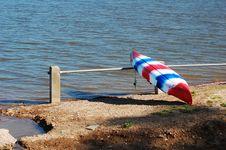Free Kayak In Dry Dock Stock Photos - 5392943