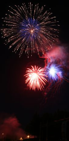 Free 4th Of July Celebration Royalty Free Stock Photo - 5393585