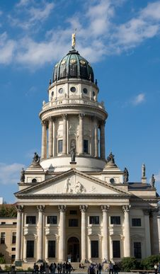 Free Berlin French Cathedral Royalty Free Stock Photos - 5394498