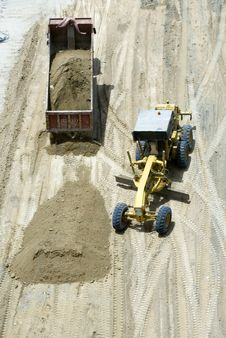 Free Construction Machineries Stock Image - 5394531