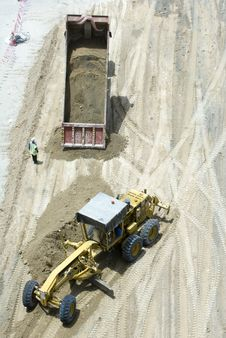 Free Construction Machineries 2 Stock Image - 5394741