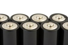 Free Group Of Batteries Royalty Free Stock Photo - 5394775