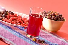 Free Fruit Drink Royalty Free Stock Photos - 5395038