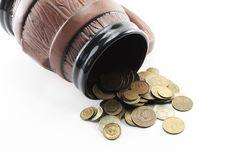 Mug And Money Stock Images