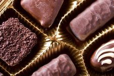 Free Chocolate Sweets Royalty Free Stock Images - 5395229