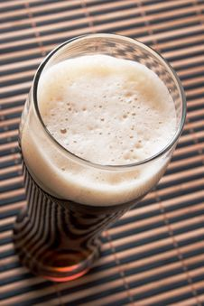 Free Beer With Froth Stock Images - 5395234