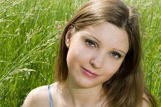 Free Romantic Girl Stock Photo - 5395500
