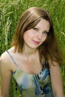 Free Romantic Girl Stock Photography - 5395702