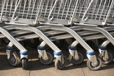 Free Shopping Carts Royalty Free Stock Photo - 5395905