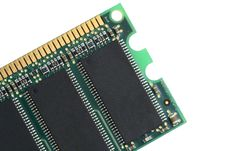 Free Random Access Memory Chip Close Up Stock Photo - 5395950