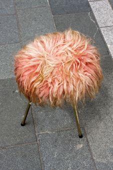 Free Fur Stool Royalty Free Stock Image - 5396176