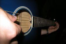 Free Playing Guitar Royalty Free Stock Image - 5396266