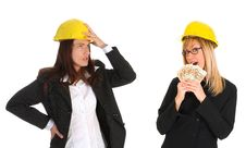 Free Architect And Businesswoman Royalty Free Stock Image - 5397166