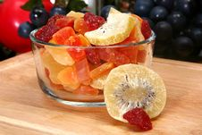 Free Organic Mixed Dried Fruit Royalty Free Stock Photos - 5397378