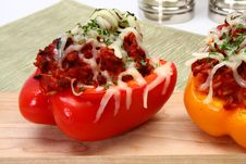 Free Stuffed Peppers Royalty Free Stock Photography - 5397537