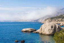 Wonderful Coastline Stock Image