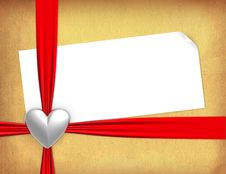 Free Valentine Card Royalty Free Stock Images - 5397749