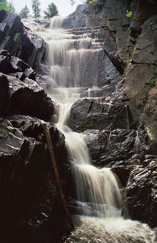 Free Little Wilson Falls Waterfall Stock Photos - 5397783