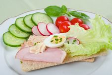 Free Dietetic Sandwich Royalty Free Stock Images - 5397849