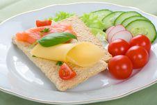 Free Dietetic Sandwich Stock Images - 5397904