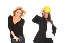 Free Two Businesswoman Royalty Free Stock Photos - 5398148