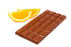 Free Chocolate And Orange Royalty Free Stock Photo - 5399575