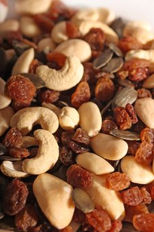 Free Nuts Royalty Free Stock Image - 5399646