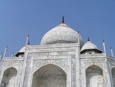 Free Taj Mahal Stock Image - 5399931