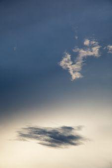 Free Strange Sky Royalty Free Stock Photography - 5399947