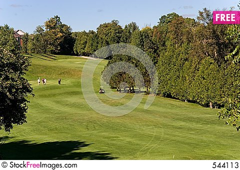 Free Golf Whitby 1 Stock Photos - 544113