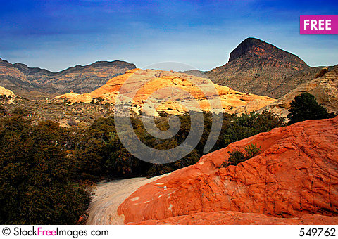 Free Red Rock Canyon, Nevada Stock Photography - 549762