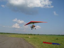 Free Flight Above A Field Stock Photos - 540013