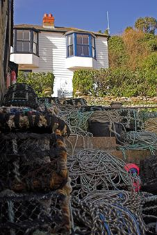 Free Fishermans House Stock Image - 540051