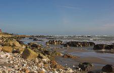 Free Rocky Coastline Royalty Free Stock Photo - 540055